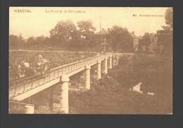 Herstal - Réproduction - Le Pont De La Dérivation - Pub Herstal En Cartes Postales - Herstal