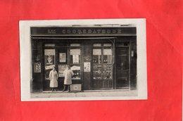 E0312 - Photo Carte Postale - LES COOPERATEURS - Magasins