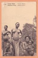 CONGO BELGE FEMME ABABUS ABABU AFRIQUE NOIRE NU AFRICAIN NUDE NACKED DESNUDO NUDA NACKT - Africa Meridionale, Occidentale E Orientale