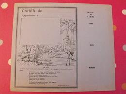 Protège-cahier. Fable De Jean De La Fontaine. Le Héron - Book Covers