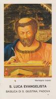 San Luca Evangelista (Fronte E Retro) - Santini