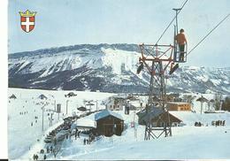 73 La Fleclaz Le Telebenne D'orionde Vue Sur La Margeriaz Voitures Ski - Otros Municipios