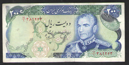 200 РИАЛОВ ИРАН   1974г - Iran