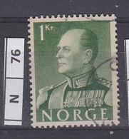 NORVEGIA  1959Re Olav V 1 K Usato - Norvegia