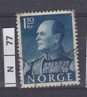 NORVEGIA  1959Re Olav V 1,50 K Usato - Norvegia