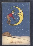 Homme - Lune - Moon - Mond - TBE - Fantaisies