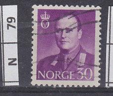 NORVEGIA  1959Re Olav V 30 O Usato - Norvegia