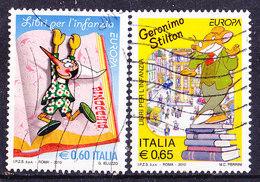 Italia 2010-Europa-Serie Completa Usata Simile - 2001-10: Oblitérés