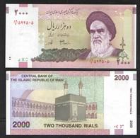 2000 РИАЛОВ ИРАН ШАХ ПЕХЛЕВИ   2005г UNC - Iran