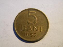 ROUMANIE -5 BANI 1957. - Roumanie