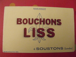 Buvard Bouchons Liss à Soustons (Landes) - Blotters
