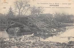 JUVIGNY - Rue De La Tartelette ; Cette Rue Conduit Au Château - Inondations Janvier 1910 - France