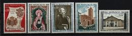 MONACO - Mi-Nr. 891 - 895 - 100. Jahrestag Der Errichtung Der Exemten Abtei Monaco Postfrisch - Ungebraucht