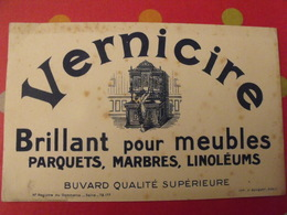Buvard Vernicire, Brillant Pour Meubles Parquets Marbres Linoléums. - Produits Ménagers