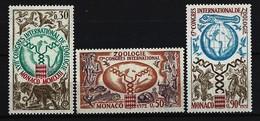 MONACO - Mi-Nr. 1051 - 1053 - 17. Internationaler Kongress Für Zoologie Postfrisch - Monaco