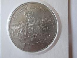 USSR/Russia 5 Rubles 1990 Proof Coin-Petrodvorets/Petergof - Rusland