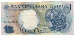 Ghana 1 Cedi 01/10/1971 - Ghana
