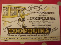 Buvard Coopérateurs Coopquina Quinquina - Alimentaire