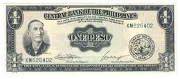 Philippines 1 Peso 1949 UNC - Filippine