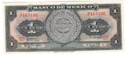 Mexico 1 Peso 22/07/1970 UNC - Messico