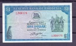 Rhodesia 1 Dollar  1979 XF - Billets