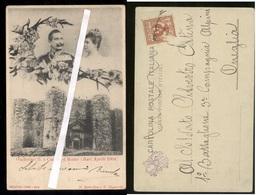 BARI 1904 VISITA DEI REALI DI GERMANIA ( WILHELM II) A CASTEL DEL MONTE (ANDRIA - CORATO ) - Case Reali