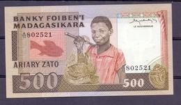 Madegaskar  500  Horizontal Serial Number - Autres - Afrique