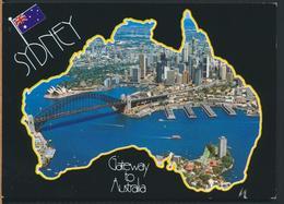 °°° 12293 - AUSTRALIA - SYDNEY VIEWS - 2004 With Stamps °°° - Sydney