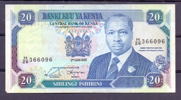Kenia 20 Sh 1992 Xf - Autres - Afrique