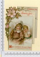 CHROMO LITHOGRAPHIE....H : 13 Cm....MAGASIN DES ENFANTS..PARIS...ÉTRENNES 1892 - Other