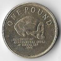 Gibraltar 2010 £1 [C820/2D] - Gibraltar