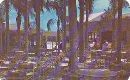 Florida Largo Palm Garden Restaurant Outdoor Dining Patio - United States