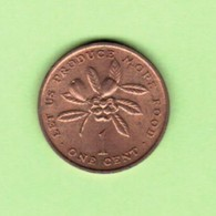 JAMAICA   1 CENT 1971  (KM # 52) #5195 - Jamaica