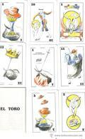 BARAJA ESPAÑOLA, PLAYING CARDS DECK, TAURINA EL TORO - Barajas De Naipe
