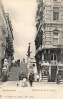 BELGIQUE - FLANDRE OCCIDENTALE - BLANKENBERGHE - Escalier De La Rue De L'Eglise. - Blankenberge