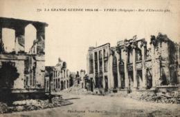 BELGIQUE - FLANDRE OCCIDENTALE - YPRES - IEPER - Rue D'Elwerdinghe  (n°770). - Ieper