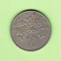 JAMAICA   10 CENTS 1969  (KM # 47) #5198 - Jamaique