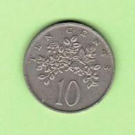 JAMAICA   10 CENTS 1986  (KM # 47) #5199 - Jamaica