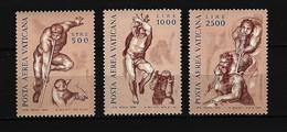 VATIKAN Mi-Nr. 675 - 677 Fresken Postfrisch - Vatikan