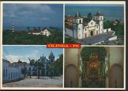 °°° 12299 - BRASILE - OLINDA - ASPECTOS DA CIDADE - 2000 With Stamps °°° - Recife