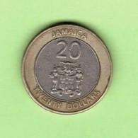 JAMAICA   $20.00 DOLLARS 2000  (KM # 182) #5204 - Jamaica