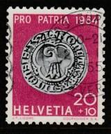 Switzerland 1964 Pro Patria 100th AnniversaryBirth Of Johann Georg Bodmer - Coins 20 + 10 C Multicoloured SW 791 O Used - Switzerland