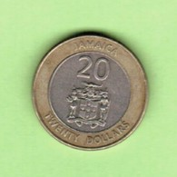 JAMAICA   $20.00 DOLLARS 2001  (KM # 182) #5205 - Jamaique