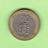 JAMAICA   $20.00 DOLLARS 2001  (KM # 182) #5205 - Jamaica