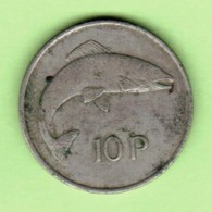IRELAND   10 PENCE 1974  (KM # 23) #5214 - Irlande