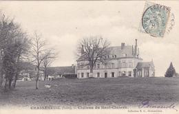 CPA 36 @ CHASSENEUIL - Château Du Haut Cluzeau En 1905 - Autres Communes