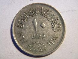 EGYPTE - 10 PIASTRES 1967. - Egypte
