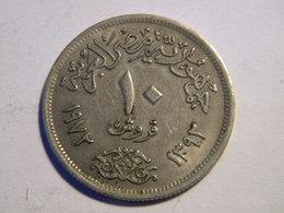 EGYPTE - 10 PIASTRES 1972. - Egypte
