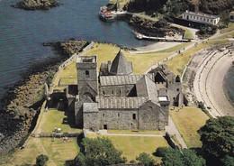 Postcard Inchcolm Abbey Aerial View [ Augustinian ] My Ref  B23221 - Fife