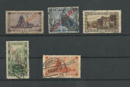 Saar Lot Stamps To Identify - Saargebiet